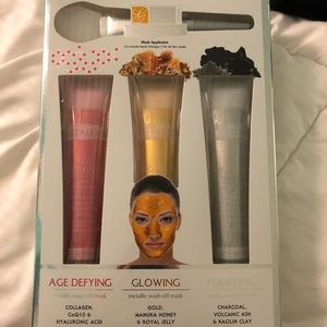 Other - Metallic facial therapy: face masks